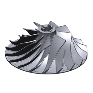 Reverse Engineering a impeller in Geomagic Design X