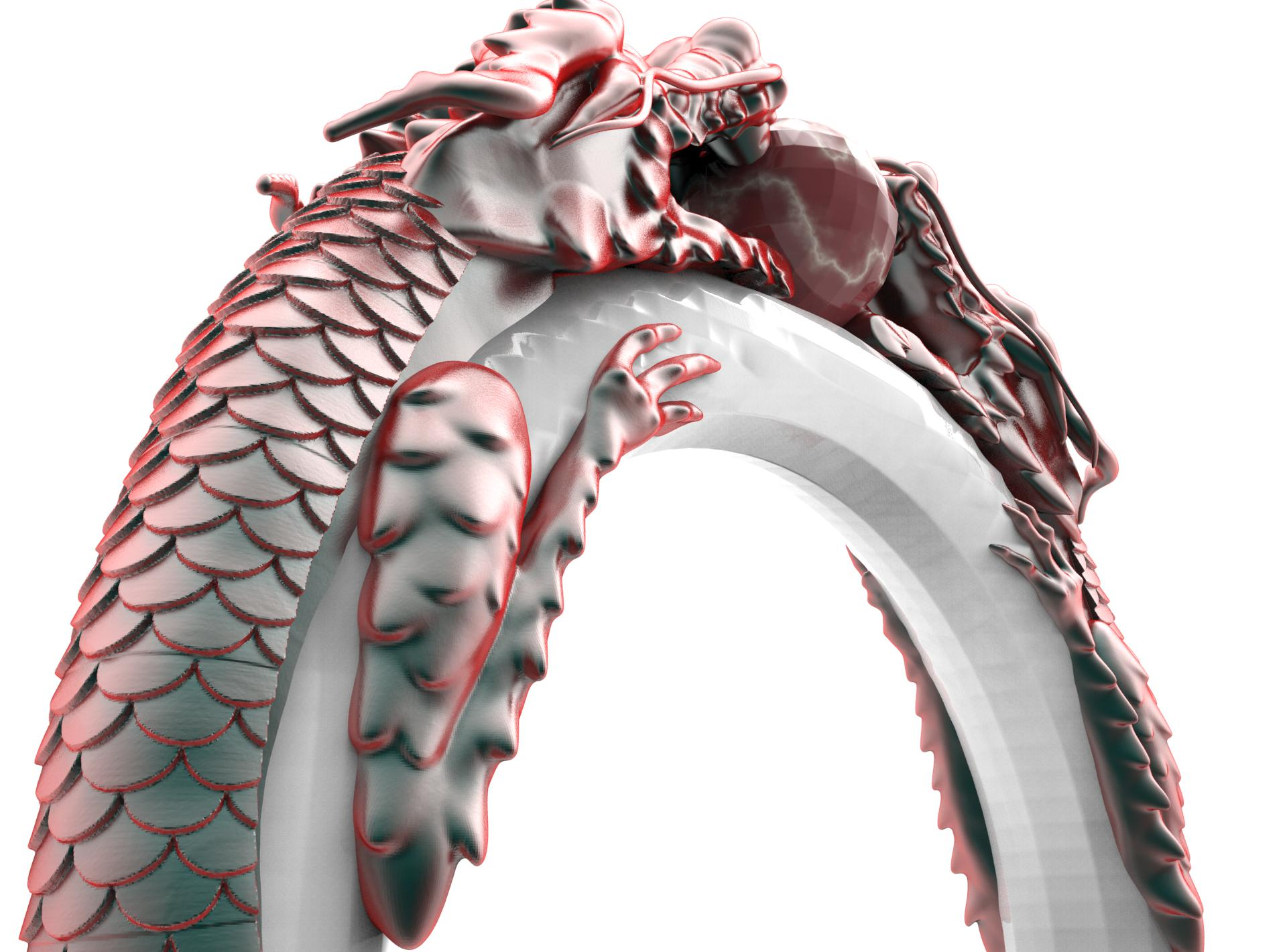 Dragon Ring Or3d
